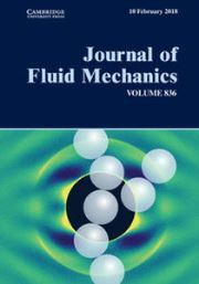 Cover image for Journal of Fluid Mechanics
